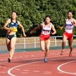 スウェーデンリレー第一走者(100m)