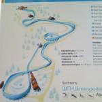 アルテンベルグのコースマップ