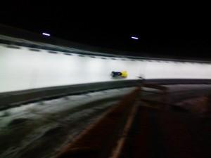 バンクーバーのボブスレーコース