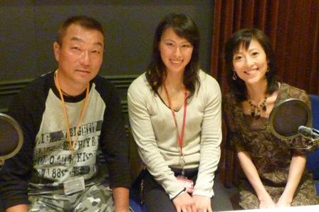 中野浩一さん、木村郁美さんと
