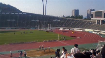 広島広域公園陸上競技場