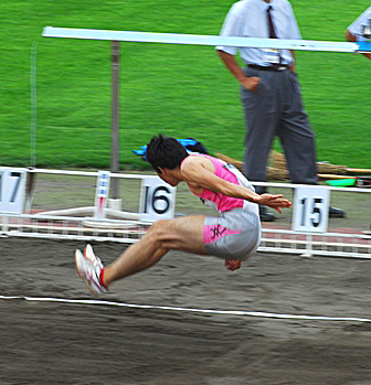 梶川洋平/南部記念陸上(2009年7月12日)