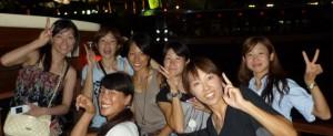 女子メンバー集合写真