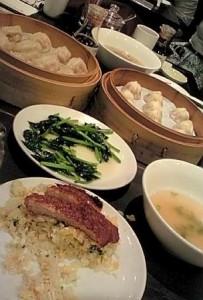 人気の中華料理屋にて