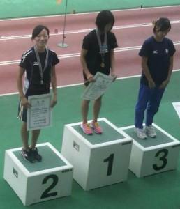 須田紗織(東海選手権2011年8月28日)