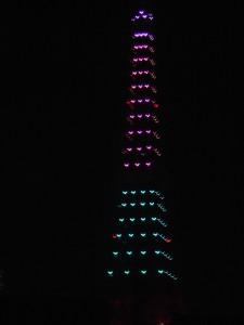 4色の東京タワー