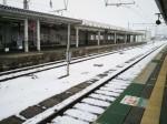 雪景色の駅